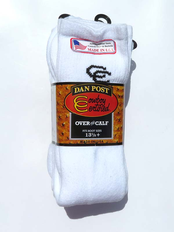 Dan Post Mens Over The Calf Cowboy Socks