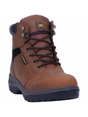 "Dan Post DP62204 Mens 6"" Burgess Waterproof Lace-Up Boot Tan"