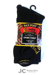 Dan Post Over The Calf Boot Socks DPCBC9-BK DPCBC10-BK Dan Post - J.C. Western® Wear