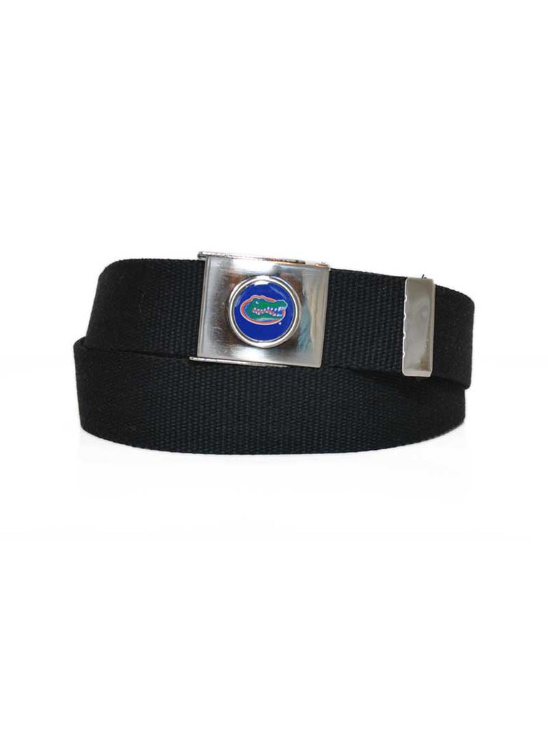 Danbury Collegiate UF Gators Adjustable Web Belt 3003500 Black Danbury - J.C. Western® Wear