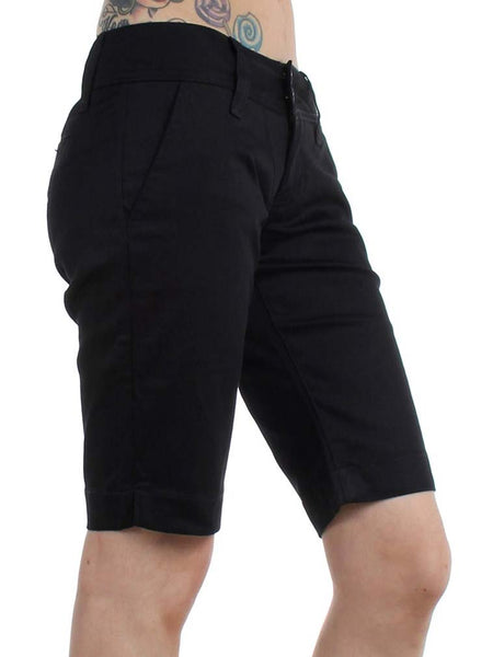 Dickies Juniors 11'' Double Button 4 Pocket Bermuda Shorts 1587JBK Black (D)