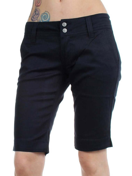 Dickies Juniors 11'' Double Button 4 Pocket Bermuda Shorts 1587JDN Dark Navy (D)