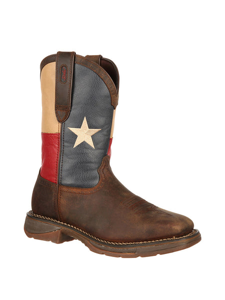 Men's Durango Steel Toe Texas Flag Boot - DB021 Durango - J.C. Western® Wear