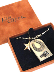 Elk Creek by VoGT Lucky You Western Charm Necklace V16-161
