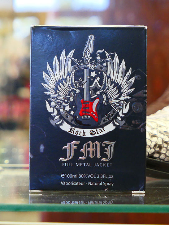 Full Metal Jacket 10016 Mens Authentic Rock Star Cologne Box front