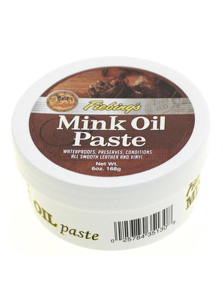 Fiebing's Mink Oil Paste For Smooth Leather And Vinyl 6oz