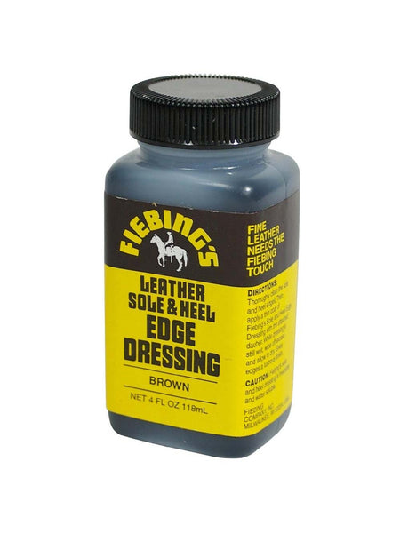 Fiebing's Leather Sole & Heel Edge Dressing 4oz