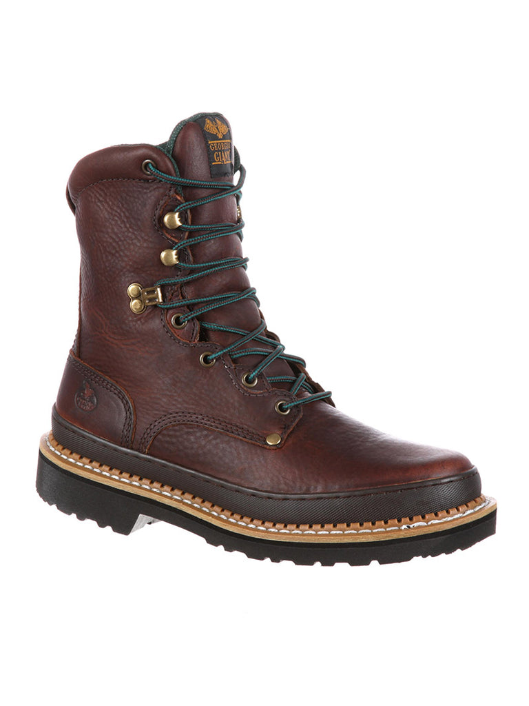 "Men's 8"" Lace Up Georgia Giant Work Boot G8274"