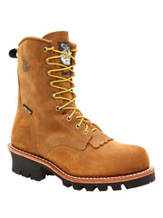 Men's Georgia Insulated Waterproof Steel Toe Logger Work Boot G9382 Georgia - J.C. Western® Wear