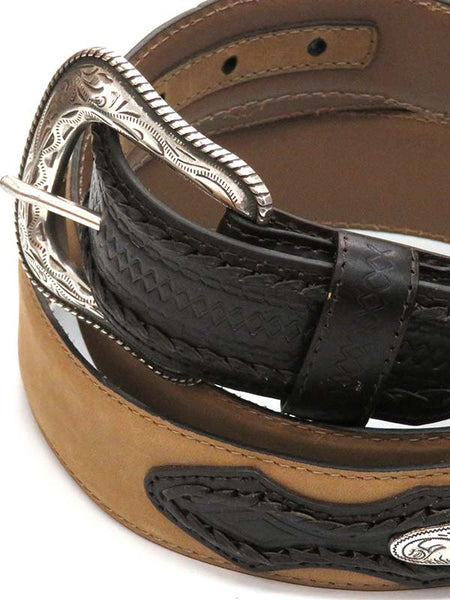 G Bar D Mens LARGE SIZE Concho Billets Belt 9590600 Tan
