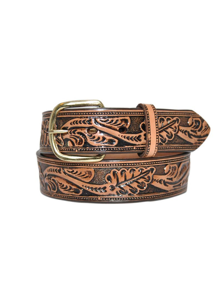Gingerich Hand Tooled Belt 8614-44 USA Made