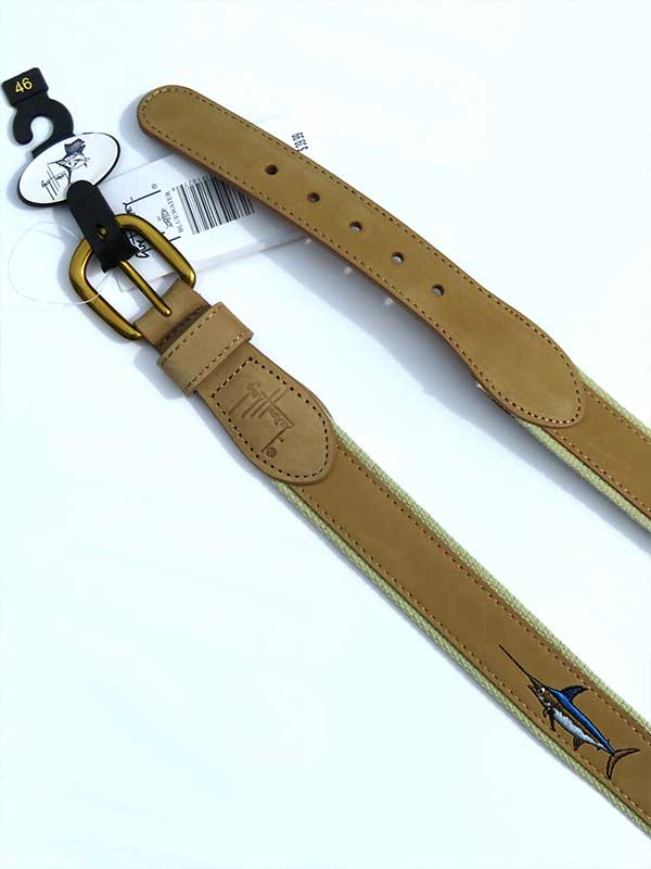 Guy Harvey Offshore Slam Belt HBL70107 Khaki