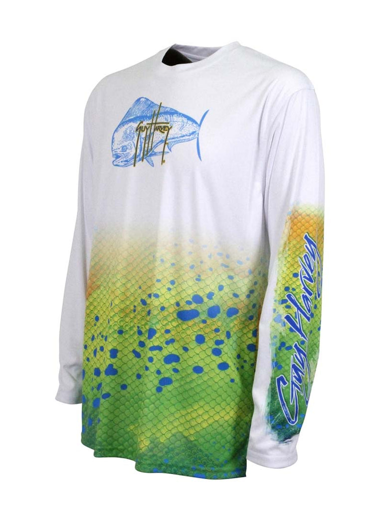 Guy Harvey Dorado Pro UVX Performance T-Shirts MH62534-WHT Guy Harvey - J.C. Western® Wear