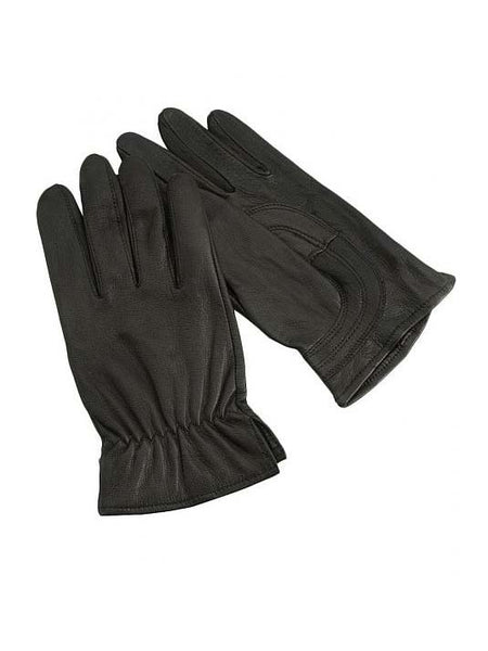 HD Xtreme Womens Work Black Deer Skin Leather Gloves H2110801