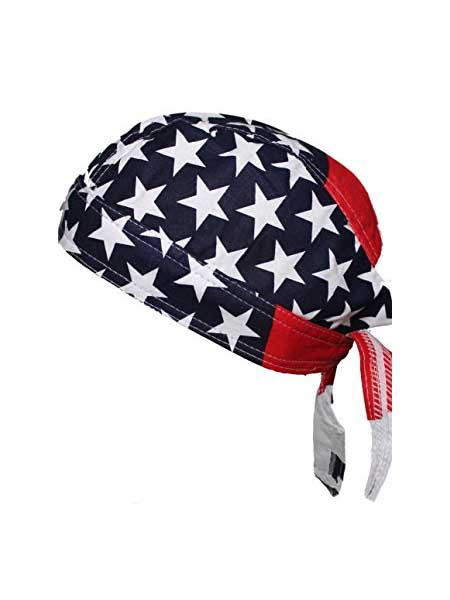 American Flag USA Head Wrap Biker Bandana 15187