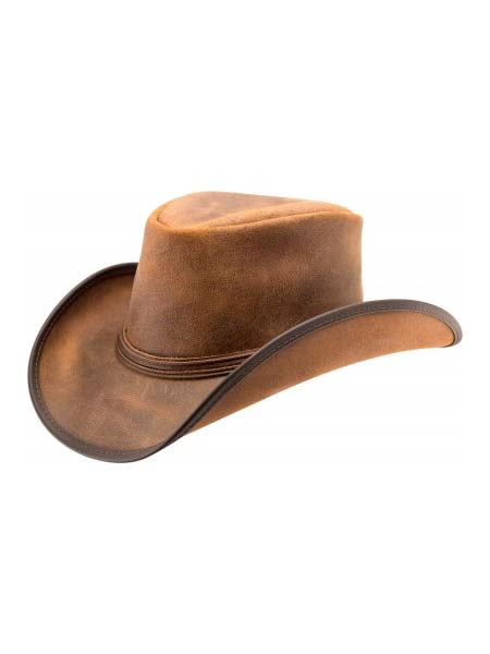 Head'n Home American Reno Vintage Leather Hat