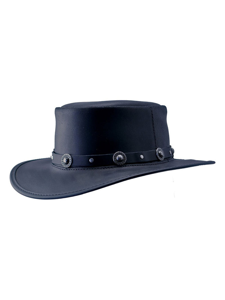 Head'n Home Silverado Black Finished Concho Band Hat