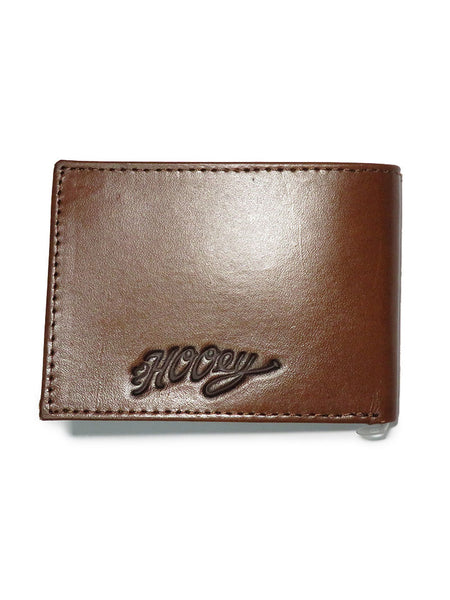 HOOey Mens Signature Floral Tooled Bi-Fold Wallet 1700161W7