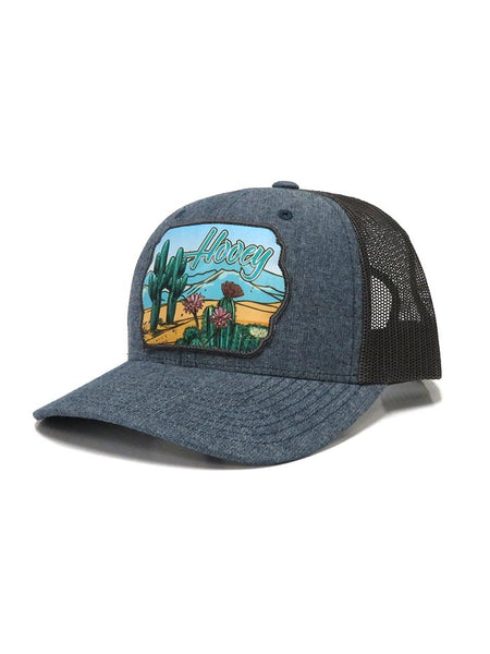 Hooey Sanora Denim Trucker Cap 1846T-DBR at JC Western Wear