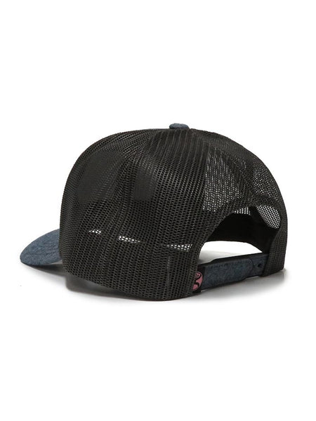 Hooey Sanora Denim Trucker Cap 1846T-DBR Back