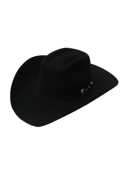 "Resistol ""Midnight"" Black Felt Hat - RFMDNT-7942"