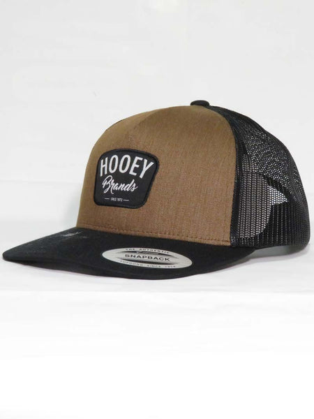 Hooey Hometown Brown and Black 5 Panel Cap 1807T-BRBK