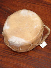 Native American Natural Cowhide Wooden Drum