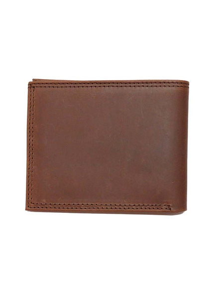Justin Bi-Fold Brown Leather Wallet 1920567W3