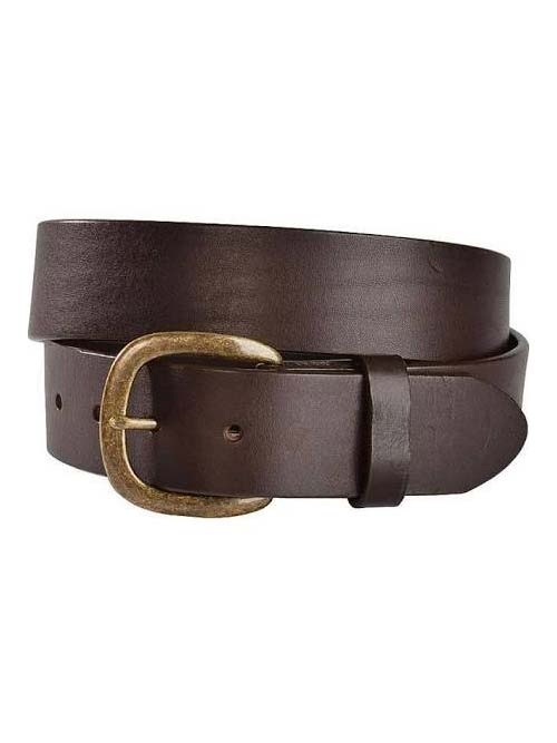 Justin Work Basic Leather Belt 232BR Brown Justin - J.C. Western® Wear