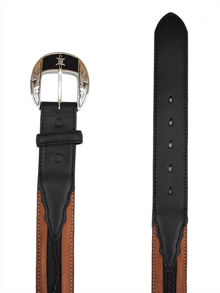 Justin Mens Barbed Wire Fenced In Western Belt C10813 Justin - J.C. Western® Wear