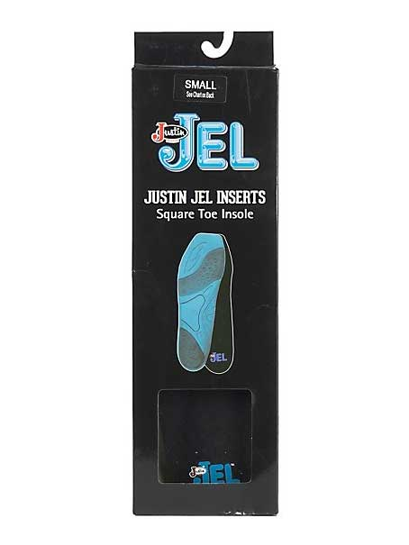 Justin Jel Square Toe Boot Inserts SOX9606 Old style