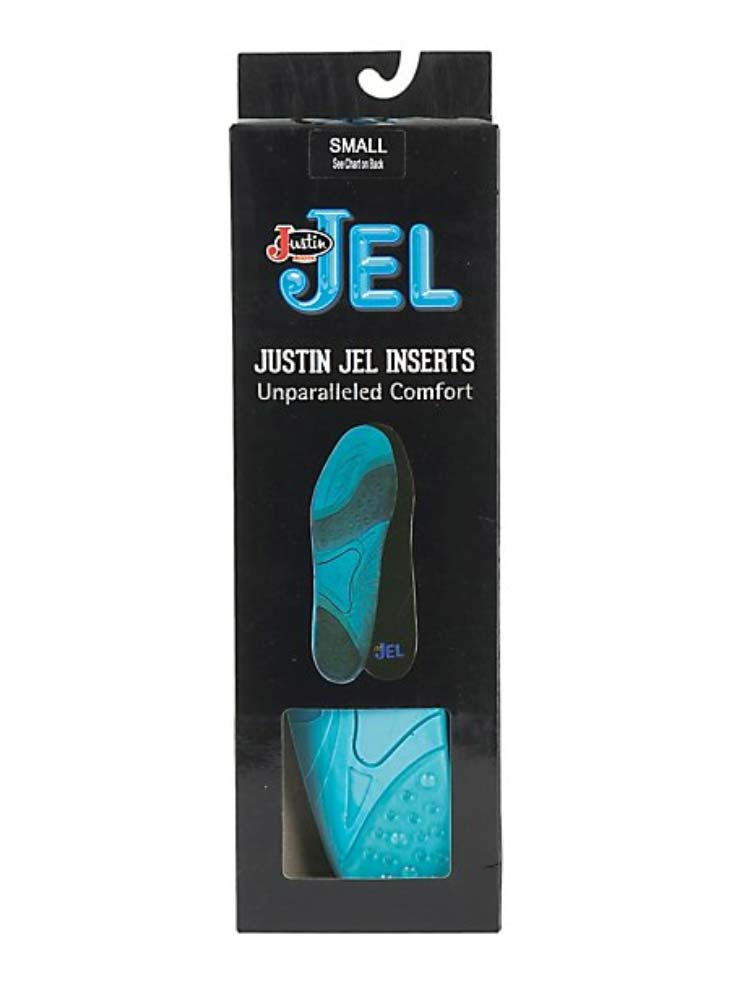 Justin Jel Round Toe Boot Inserts SOX9624 New