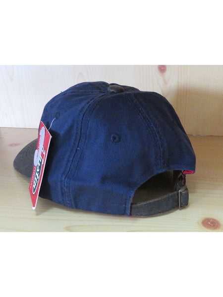 Justin JCBC017 Embroidered Logo Cotton Twill Cap Navy back