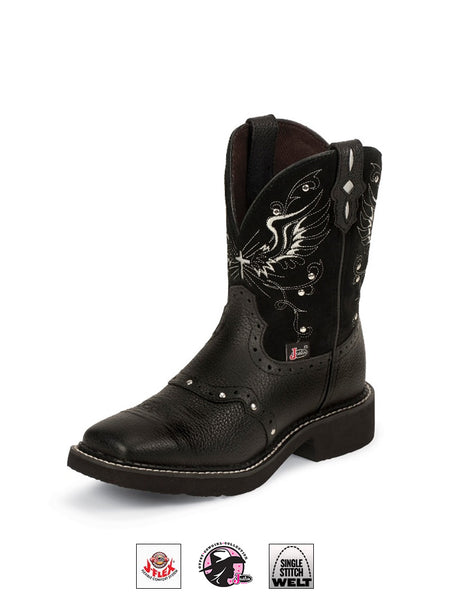 Justin L9977 Womens Gypsy Western Boot Black
