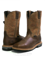 Justin WK4103 Mens Stampede Bolt Buff Composite Toe Work Boot Front View