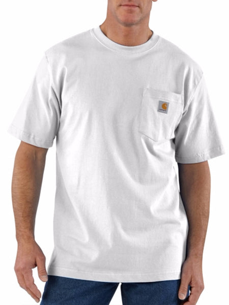 Carhartt Workwear Pocket Short-Sleeve T-shirt - White Carhartt - J.C. Western® Wear