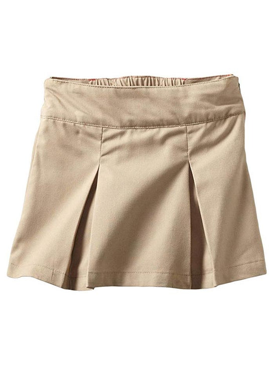 Dickies KT390DS Big Girls Pleated Skooter Khaki
