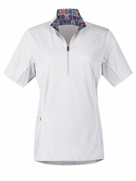 Kerrits Womens Hybrid II Riding Shirt 40356 White Kerrits - J.C. Western® Wear