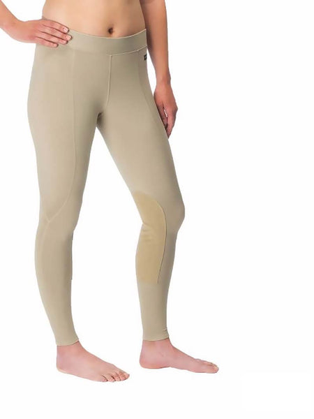 Kerrits 50200 Womens Flow Rise Knee Patch Performance Tight