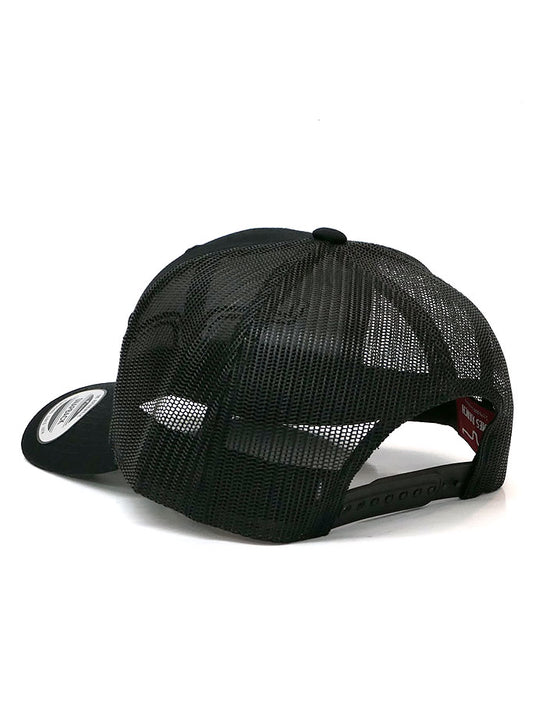 Kimes Ranch Mens Weekly Trucker Mesh Back Cap Black Back