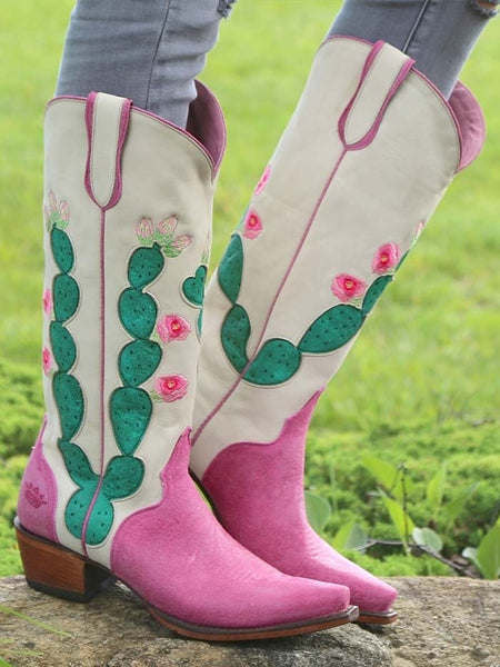 Lane Boots Junk Gypsy Hard to Handle Pink Boot JG0012B