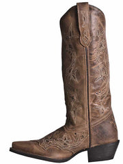 Laredo 52033 Womens Cross Point Western Leather Boot Brown
