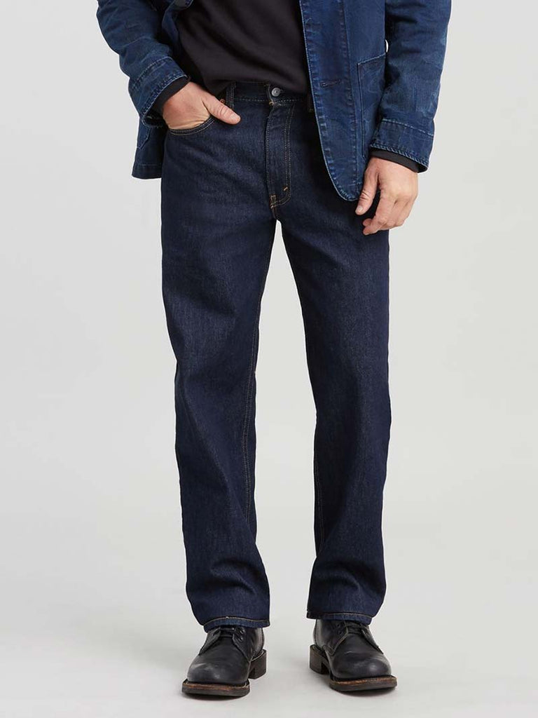 Levis 550 Mens Relaxed Fit Tapered Leg Jeans 005500216 Rinse