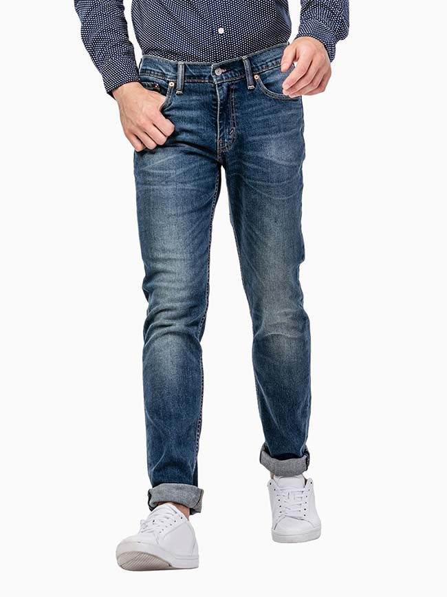 Levi's 511 Slim Fit Throttle Blue Stretch Jeans 045111163