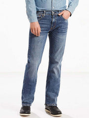 Levi's 527 Slim Boot Cut Indigo Wash Stretch Jeans 055270470