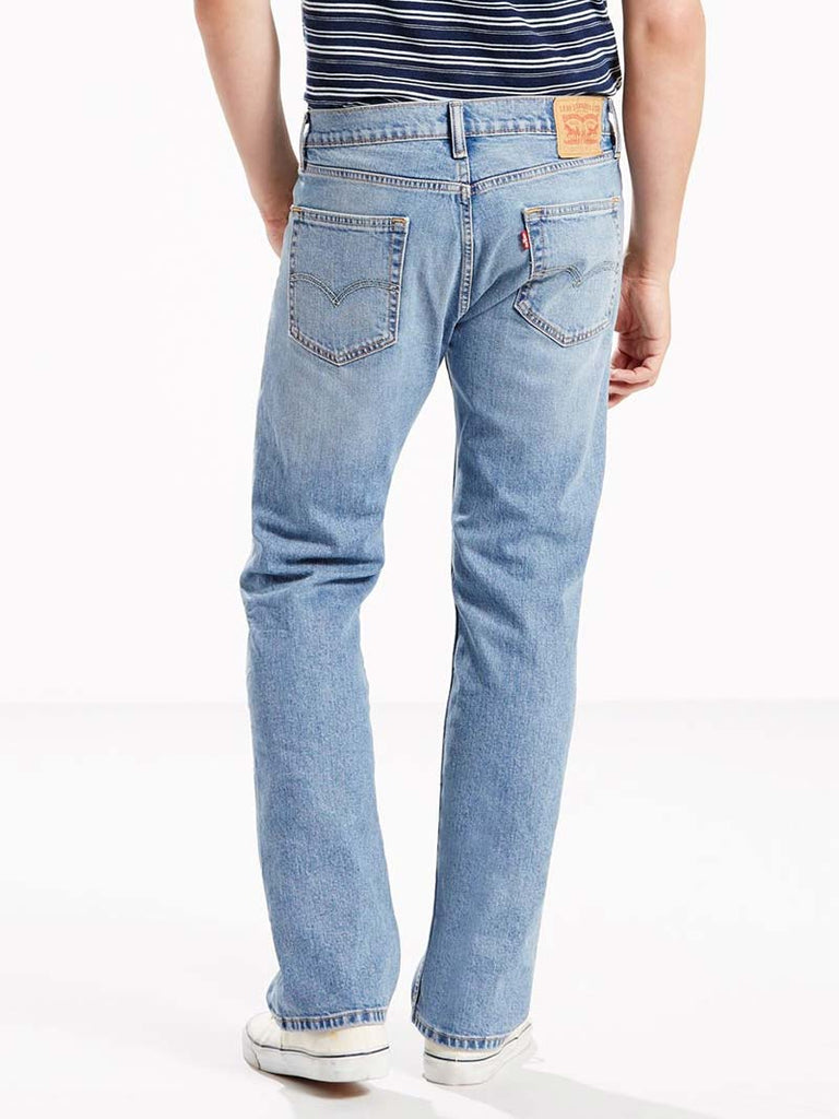Levis 505 Mens Regular Fit Straight Leg Stretch Jeans 005051456 Clif