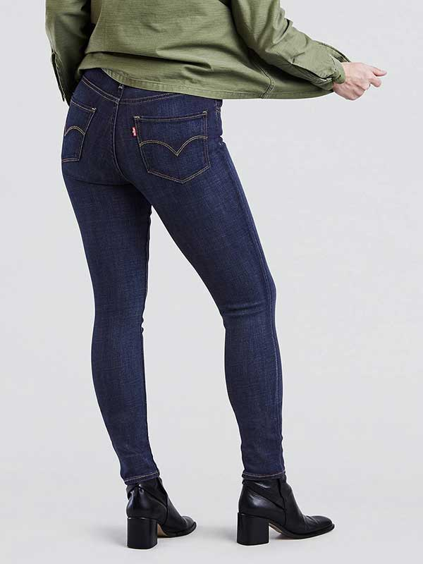 Levi s Womens 721 High Rise Skinny Jeans 188820047 Blue Story. NEXT. PREV.  Zoom ceb7bd001a4f