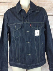 Levi's Mens Rigid Trucker Premium Denim Jacket 707970003 (D)