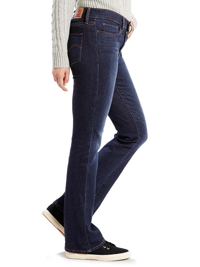 Levi's Womens Canyon Slimming Bootcut Jeans 284020001 Levis - J.C. Western® Wear
