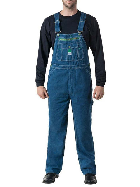 Liberty Mens Stonewashed Denim Bib Overall MOV14006 Liberty - J.C. Western® Wear